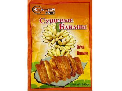 Бананы сушеные в упаковке