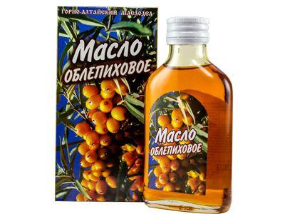 Масло ОБЛЕПИХОВОЕ «Горно-Алтайский маслодел»