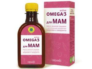 Масло льняное для МАМ ОМЕГА-3 «Компас здоровья» 200 мл
