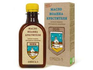 Масло льняное Иоанна Крестителя «Компас здоровья» обогащенное зверобоем