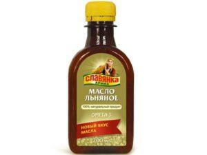 Масло льняное Славянка Арина «Компас здоровья» 200 мл
