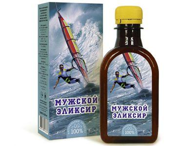 Масло льняное с растительными экстрактами «Эликсир мужской» 200 мл (Компас здоровья)