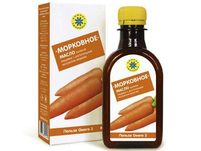 Масло льняное с растительными экстрактами «Морковное» 200 мл (Компас здоровья)