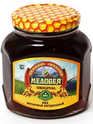 Мёд (ГРЕЧИШНЫЙ) пчелопродукты «МЕДОВЕЯ»