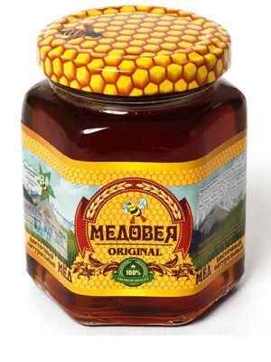 Мёд (КАШТАНОВЫЙ) пчелопродукты «МЕДОВЕЯ»