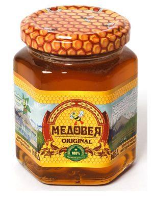 Мёд (КОРИАНДРОВЫЙ) пчелопродукты «МЕДОВЕЯ»