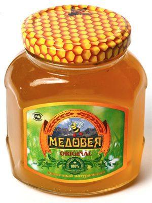 Мёд (ЛИПОВЫЙ) пчелопродукты «МЕДОВЕЯ»