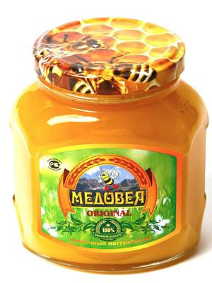 Мёд (ПОДСОЛНЕЧНЫЙ) пчелопродукты «МЕДОВЕЯ»