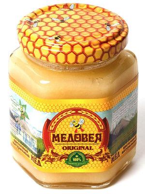 Мёд (ЦВЕТОЧНЫЙ) пчелопродукты «МЕДОВЕЯ»