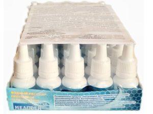 Водный экстракт прополиса на шунгитовой воде 15 гр Пчелопродукты «МЕДОВЕЯ»