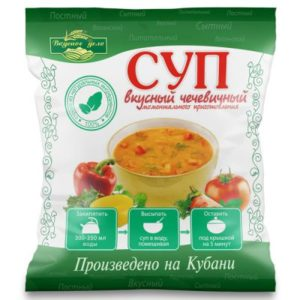 Чечевичный суп «Вкусное дело» 28 гр