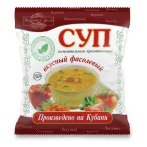 Фасолевый суп «Вкусное дело» 28 гр