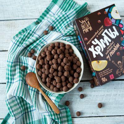 Готовый завтрак из Полбы Хрумпы с какао «Умная мама» 140 гр