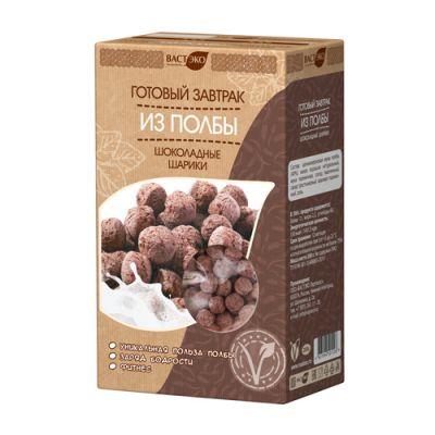 Готовый завтрак из полбы Шоколадные шарики «ВастЭко» 200 гр
