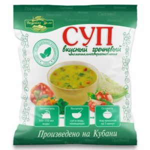 Гречневый суп «Вкусное дело» 28 гр