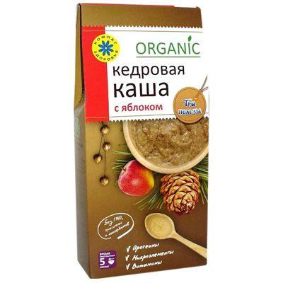 КАША Кедровая с яблоком Три пользы «Компас здоровья» 210 гр