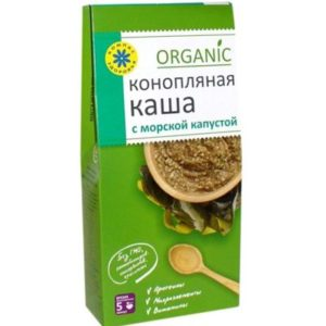 КАША Конопляная с морской капустой «Компас здоровья» 250 гр