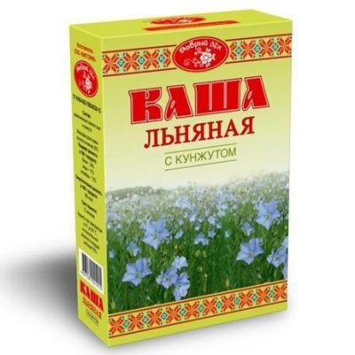 Каша льняная с КУНЖУТОМ «Добрый лён» 400 гр