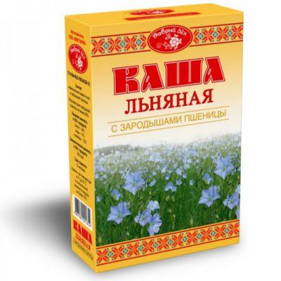 Каша льняная с зародышами пшеницы «Добрый лён» 400 гр