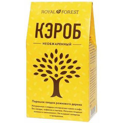 Кэроб необжаренный 200 гр «Royal Forest»
