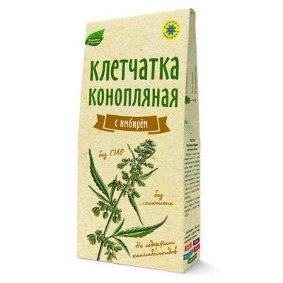Конопляная клетчатка с имбирем «Компас здоровья» 150 гр
