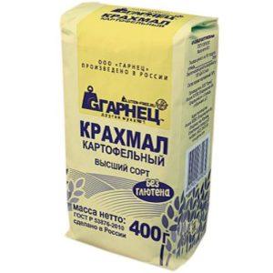 Крахмал Картофельный «Гарнец» 400 гр
