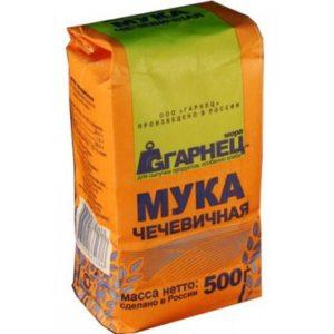 Мука Чечевичная «Гарнец» 500 гр