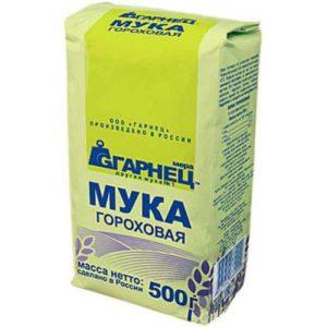 Мука Гороховая «Гарнец» 500 гр