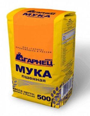 Мука Пшённая «Гарнец» 500 гр