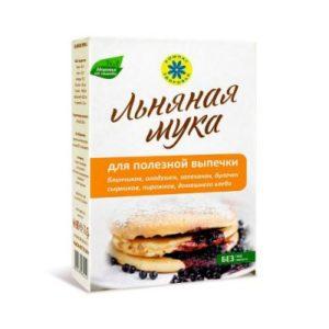 Мука Льняная для полезной выпечки «Компас здоровья» 300 гр