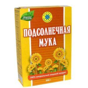 Мука Подсолнечная «Компас здоровья» 300 гр