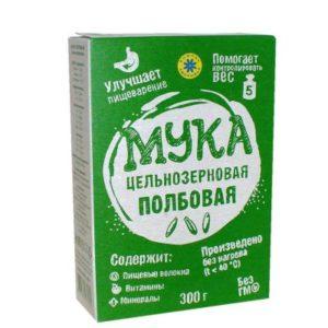 Мука цельнозерновая Полбовая «Компас здоровья» 300 гр