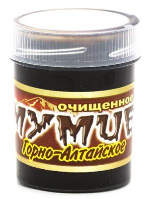 Мумиё (Горно-алтайское) очищенное 50 гр «Медовея»