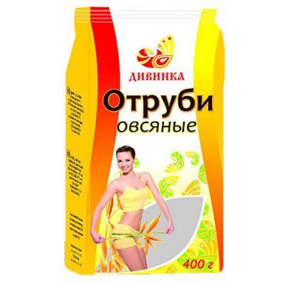 ОВСЯНЫЕ отруби «Дивинка» 400 гр