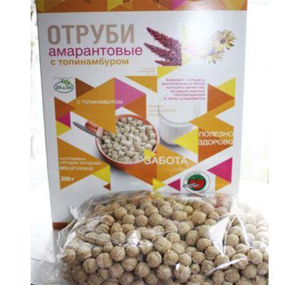 Отруби Амарантовые с топинамбуром «Di&Di» 250 гр