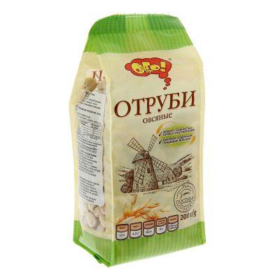 Отруби ОВСЯНЫЕ (гранулированные) «ОГО» 200 гр