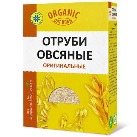 Овсяные отруби «Компас здоровья» 200 гр