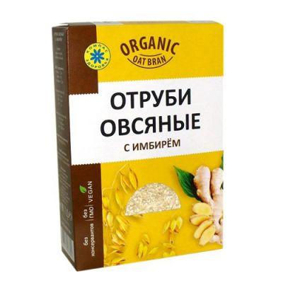 Овсяные отруби с имбирем «Компас здоровья» 200 гр