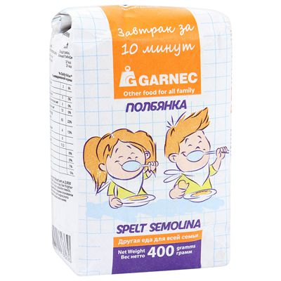 ПОЛБЯНКА (крупка) «Гарнец» 400 гр
