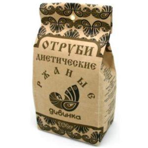РЖАНЫЕ отруби диетические «Дивинка» 350 гр