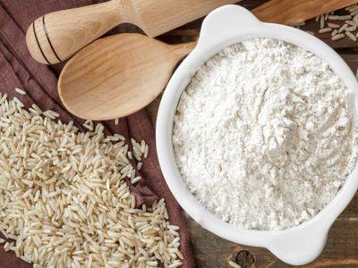 Рисовая мука цельнозерновая «Гарнец» 500 гр