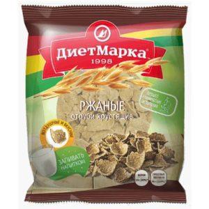 Ржаные отруби хрустящие «ДиетМарка» 100 гр