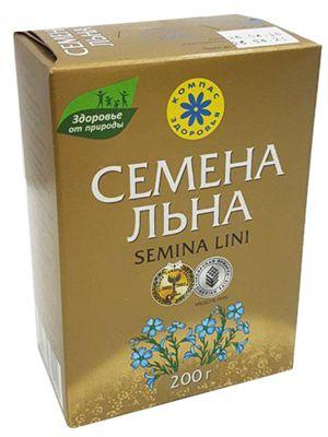 Семена Льна «Компас Здоровья» 200 гр
