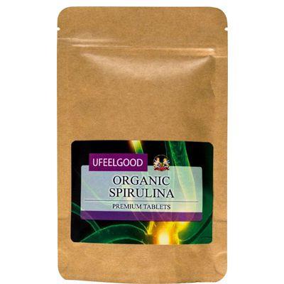 Спирулина (Органическая водоросль) таблетки «UFEELGOOD» 100 гр