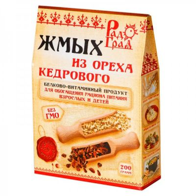 ЖМЫХ Кедрового ореха «Радоград» 200 гр