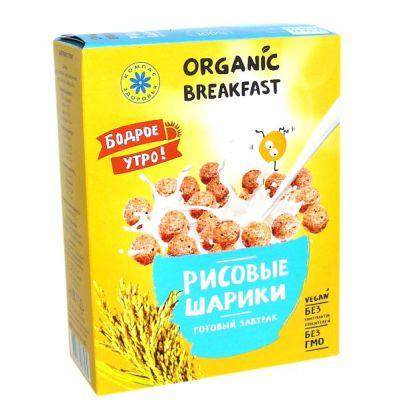 Завтраки сухие (Рисовые шарики) «Компас здоровья» 100 гр