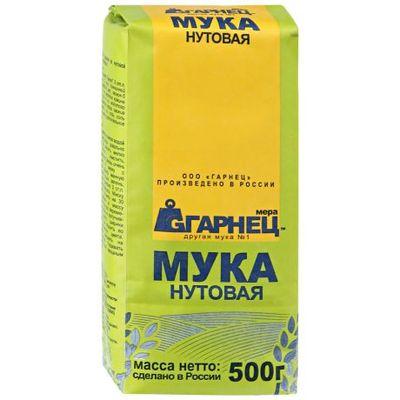 Мука Нутовая «Гарнец» 500 гр
