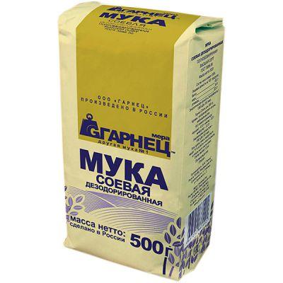 Мука Соевая «Гарнец» 500 гр