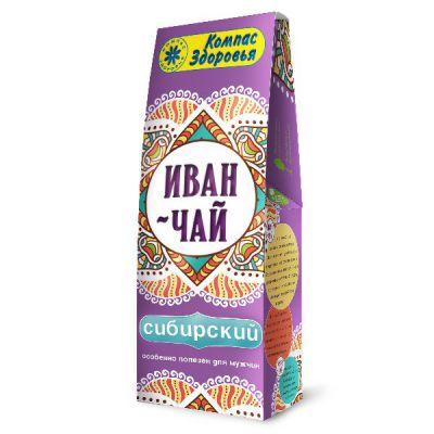 """Чайный напиток с кипреем """"ИВАН-ЧАЙ"""" 60 гр «Компас здоровья»"""