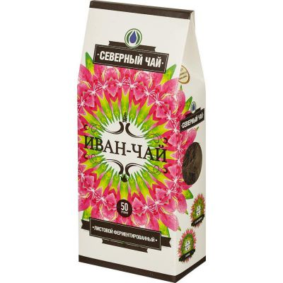 «ИВАН-ЧАЙ» Ферментированный, листовой 50 гр «Северный чай»